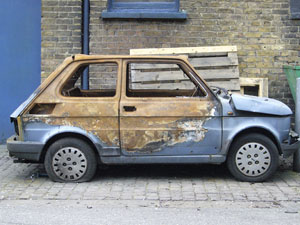 Emma Croft - Car (Obsolete series) 2009